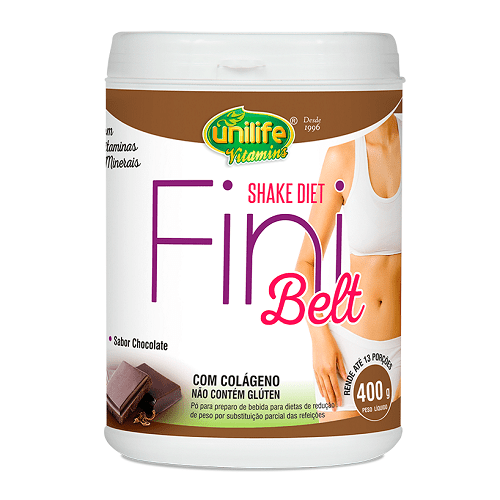 Shake Fini Belt Diet 400g Chocolate Unilife